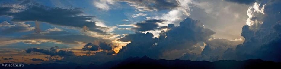 AL005 - Tramonto sulle Alpi Liguri