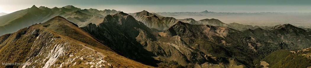 AL130 - Panoramica delle Alpi Liguri