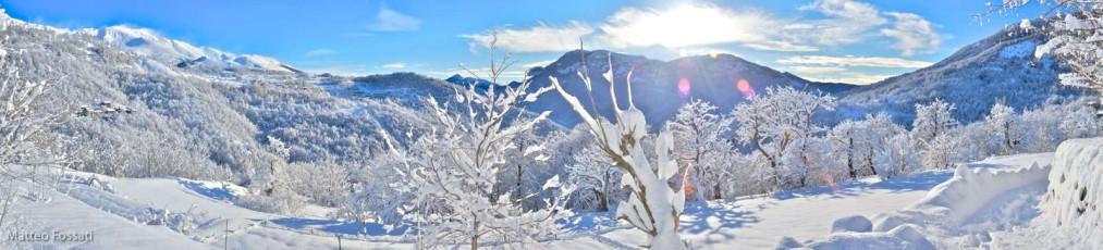 AL154 - Inverno sulle Alpi Liguri