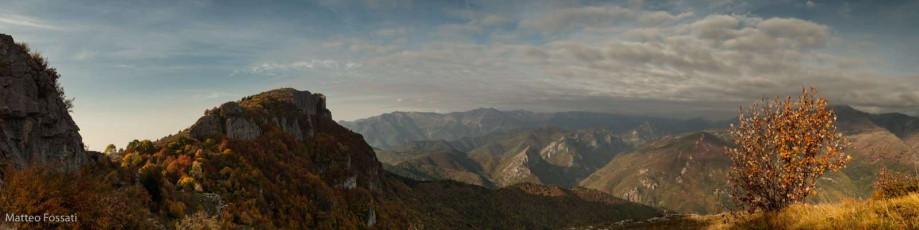 AL214 - Monte della Guardia e Alta Via dei Monti Liguri