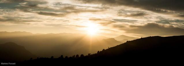 AL247 - Tramonto sulle Alpi Liguri